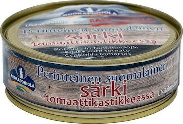 Ruokapohjola Särki tomaattikastikkeessa 210/170g perinteinen suomalainen