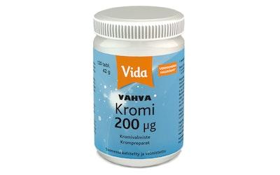 Vida 120 tablettia/42g Vahva Kromivalmiste ravintolisä