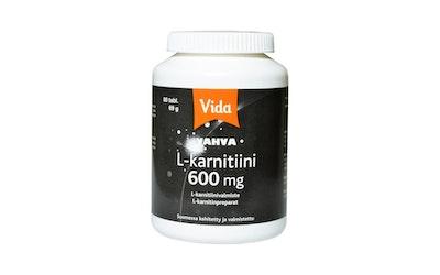 Vida 80 tablettia/69g L-karnitiinivalmiste ravintolisä