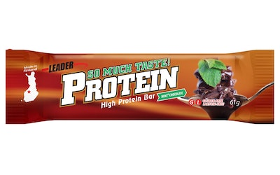 Leader protein locarb patuk 61g mint+suk