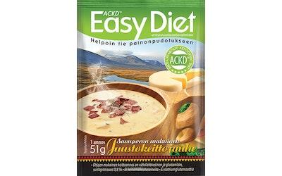Leader ACKD Easy Diet 51g savuporon makuinen juustokeittojauhe