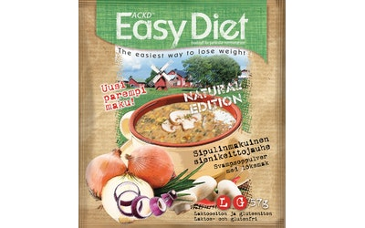 Leader ACKD Easy Diet 57g Natural Sipuli-sieni keittojauhe