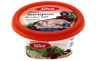 Silva juustolevite 150g kylmäsavuporo kevyt
