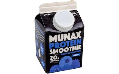 Munax smoothie 300ml mustikka
