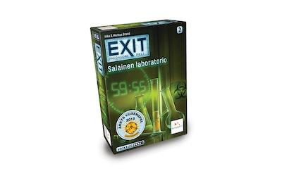 EXIT-peli Salainen laboratorio