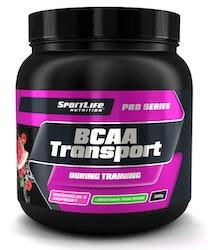 SportLife Nutrition BCAA Transport 300g vesimelooni vadelma Treenin aikana nautittava aminohappojuom