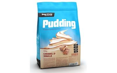 SportLife Nutrition Pudding 500g vanilja-karamelli proteiinivanukas