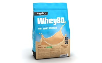 Whey80 600g Vanilla Ice Cream stevia