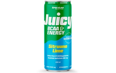 Juicy BCAA sitruuna-lime 0,33l