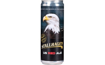 Stallhagen US Red Ale 5,5% 0,355l - kuva