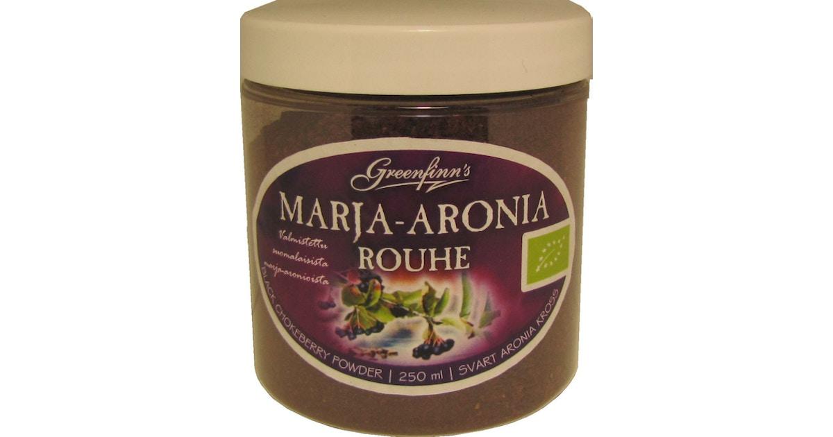 Marja-Aronia Ravintosisältö