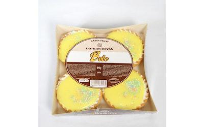 Laitilan Leivän Bebe-leivos keltainen 4x60g