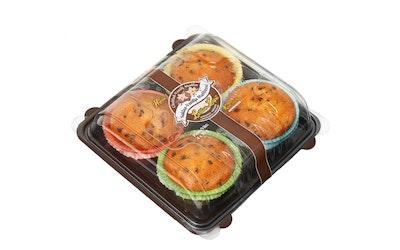 Laitilan Leipä Suklaa-vanilja muffinssi 4x60g