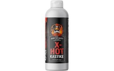 Siipiweikot Hot Wings kastike 500ml x-hot