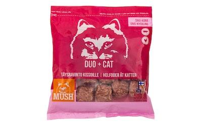 Mush DUO+ Sika-kana täysravinto kissoille 500 g pakaste