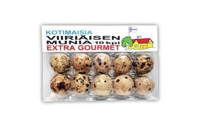 Kotimaisia viiriäisen munia 10kpl 120g