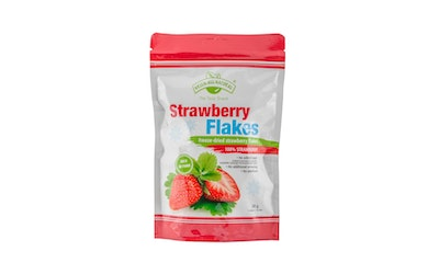 Green all naturall 20g Strawberry flakes
