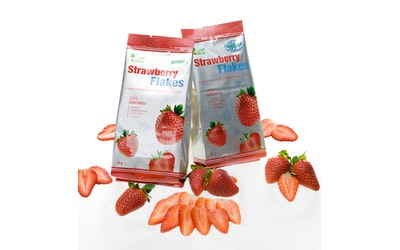 Green all Natural Strawberry Flakes 30 g