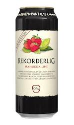 Rekorderlig siideri mansikka-lime alkoholiton 0,5l