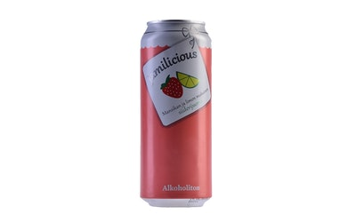 Jamilicious Mansikka-Lime 0% 0,5l