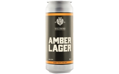 Mallaskoski Last Laugh Amber Lager 5,5% 0,5l