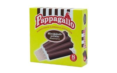 Pappagallo Minijäätelöpuikko 8 kpl 240g/336ml (8kpl x 30g/42ml)