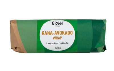 Greendeli Wrap 270g kana-avocado