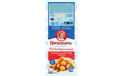 Mummon Pariisinperunat 500g hetivalmiit