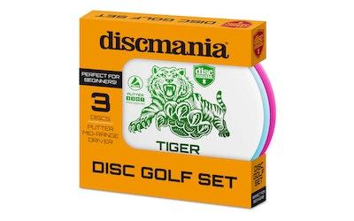 Discmania Active Set frisbeegolf kiekkosetti, 3 eri kiekkoa