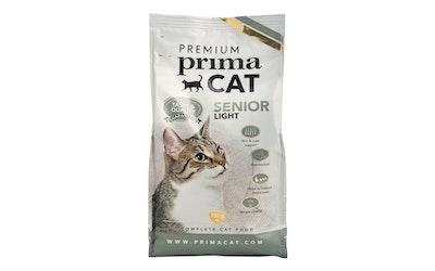 Premium PrimaCat senior kissan kuivaruoka 750g light