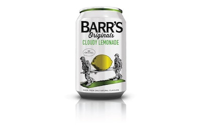 Barr's Originals Cloudy Lemon 0,33l