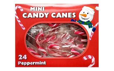 Mini Candy canes minikarkkikepit 96g