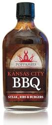 Poppamies BBQ grillikastike 266ml Kansas City