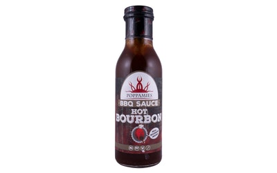 Poppamies Hot Bourbon BBQ 410g