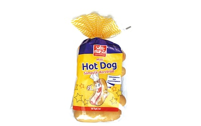 Satumaista Mini Hot dog 10kpl/280g