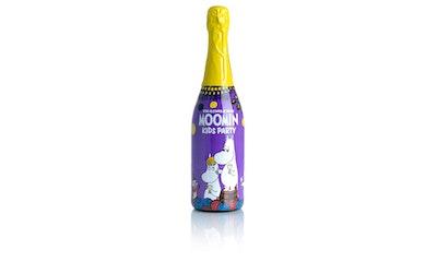 Moomin mustikka-vadelmajuoma 0,75l klp