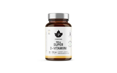 Puhdistamo Super D-vitamiini 60kpl 100mg