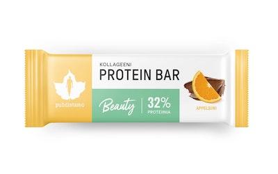 Puhdistamo Kollageeni Beauty proteiinipatukka 30g appelsiini