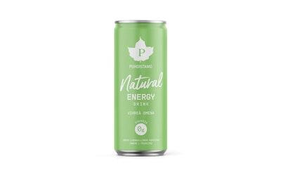 Puhdistamo energy drink 330ml vihr.omena