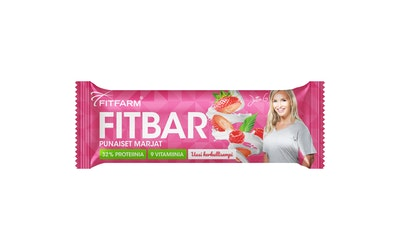 FitFarm Fit Bar Punaiset Marjat 35g