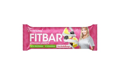 FitFarm Fit Bar Sitruuna-Lakritsi 35g