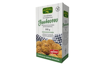 Viljatuote Rouheinen jauhoseos 500g gluteeniton