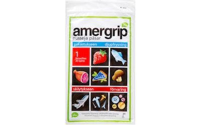 Amergrip pussi 1L 20kpl - kuva