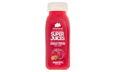 Sonatural raakamehu granaattiomena-omena-sitruuna 250ml