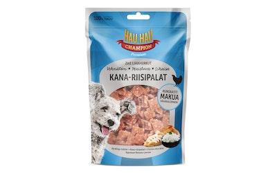 Hau-Hau Champion 2in1 lihaherkut 80 g kana-riisipalat