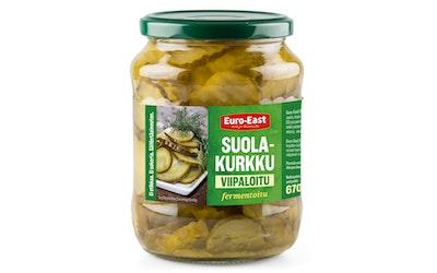 Venäläinen suolakurk viipaloitu670g/390g