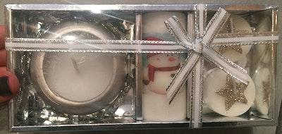 Candle Haven kynttilälahjapakkaus Lumiukko
