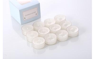 Candle Haven tuoksulämpökynttilä 12kpl White Jasmin