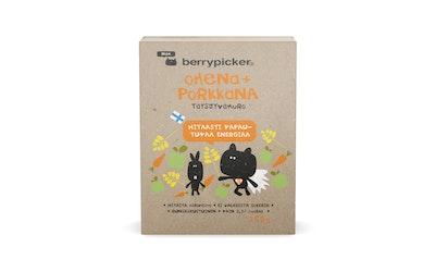 BerryPicker Omena Porkkana täysjyvämuro 250g