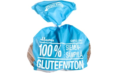 Hannun siemensämpylä 320g gluteenit